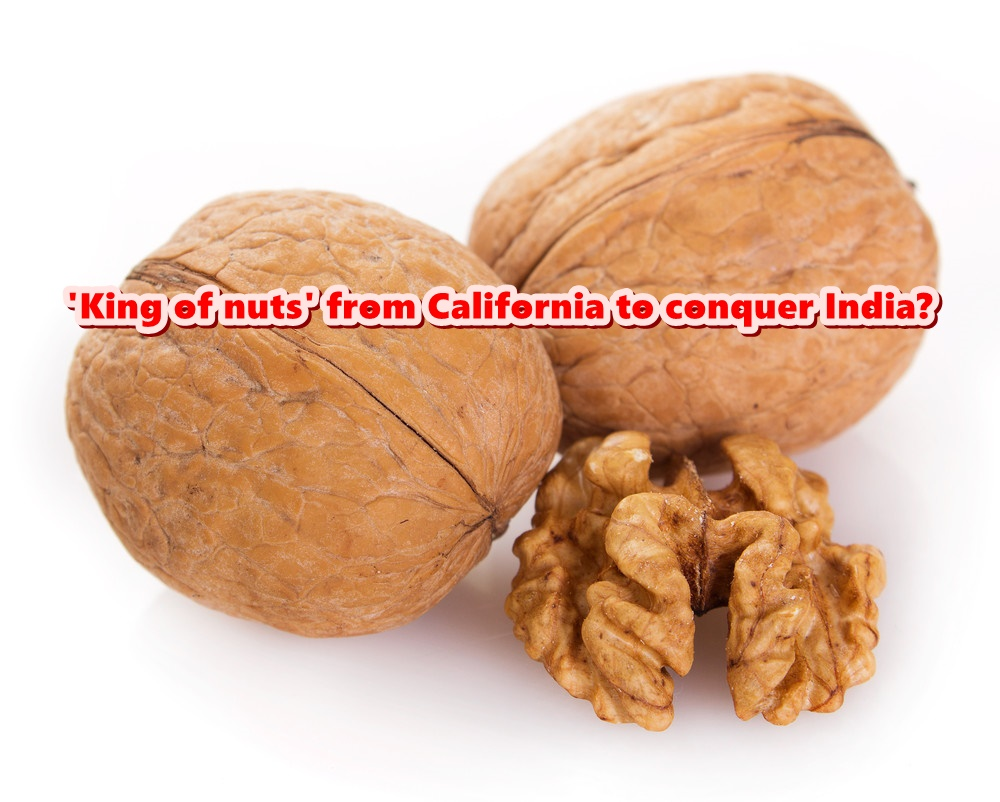 'King of nuts' from California to conquer India?