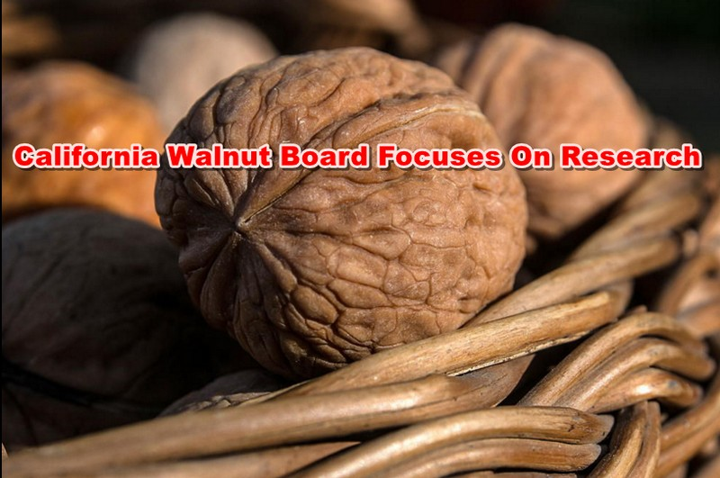 California Walnut Board Focuses On Research
